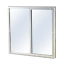 insulated vinyl or mill finish window