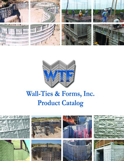 concrete forms product catalog