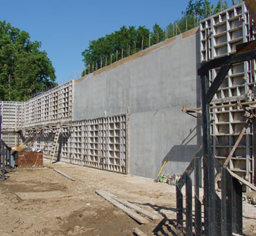 Concrete Forms Big Panels