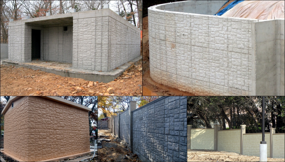 ashlar stone wall pattern
