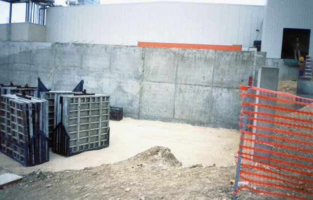 big panels concrete walls
