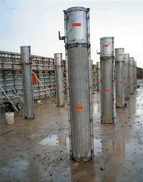 Concrete Column Forms - Wall-Ties & Forms, Inc