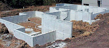 Concrete Foundation Formwork