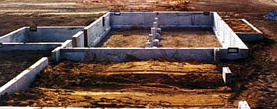 Concrete formwork system crawl space for Crawl space excavation cost