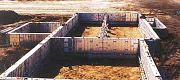 Crawl Spaces Concrete Formwork