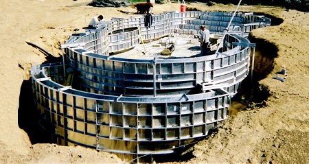 Swimming Pool Concrete Forming System
