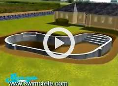 swimming pool concrete