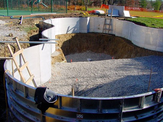 All Concrete Swimming Pool Construction Process